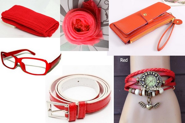 Assortiment rouge